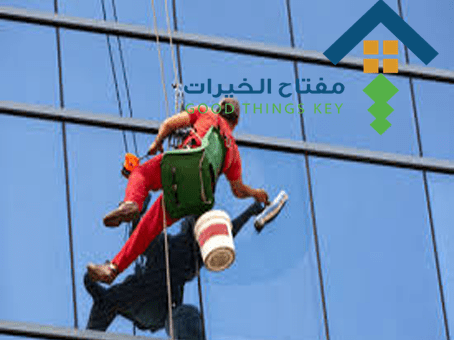 شركة تنظيف واجهات زجاج جنوب الرياض عمالة فلبينية
