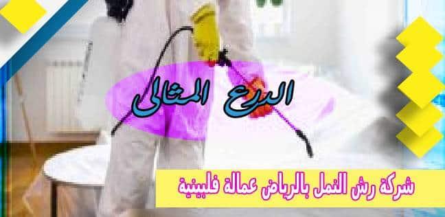 شركة رش النمل بالرياض عمالة فلبينية 0530005797