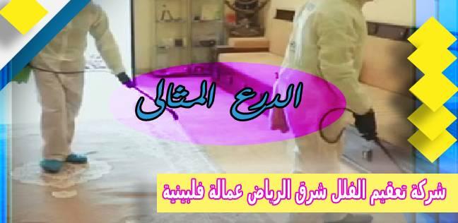 شركة تعقيم الفلل شرق الرياض عمالة فلبينية