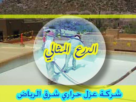 شركة عزل حراري شرق الرياض