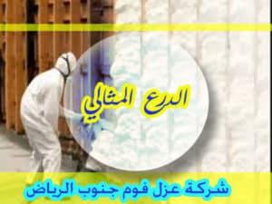 شركة عزل فوم جنوب الرياض