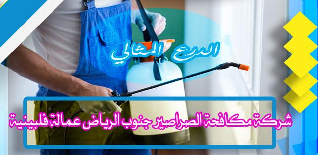 شركة مكافحة الصراصير جنوب الرياض عمالة فلبينية 0530005797