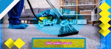 خدمات تنظيف الفلل